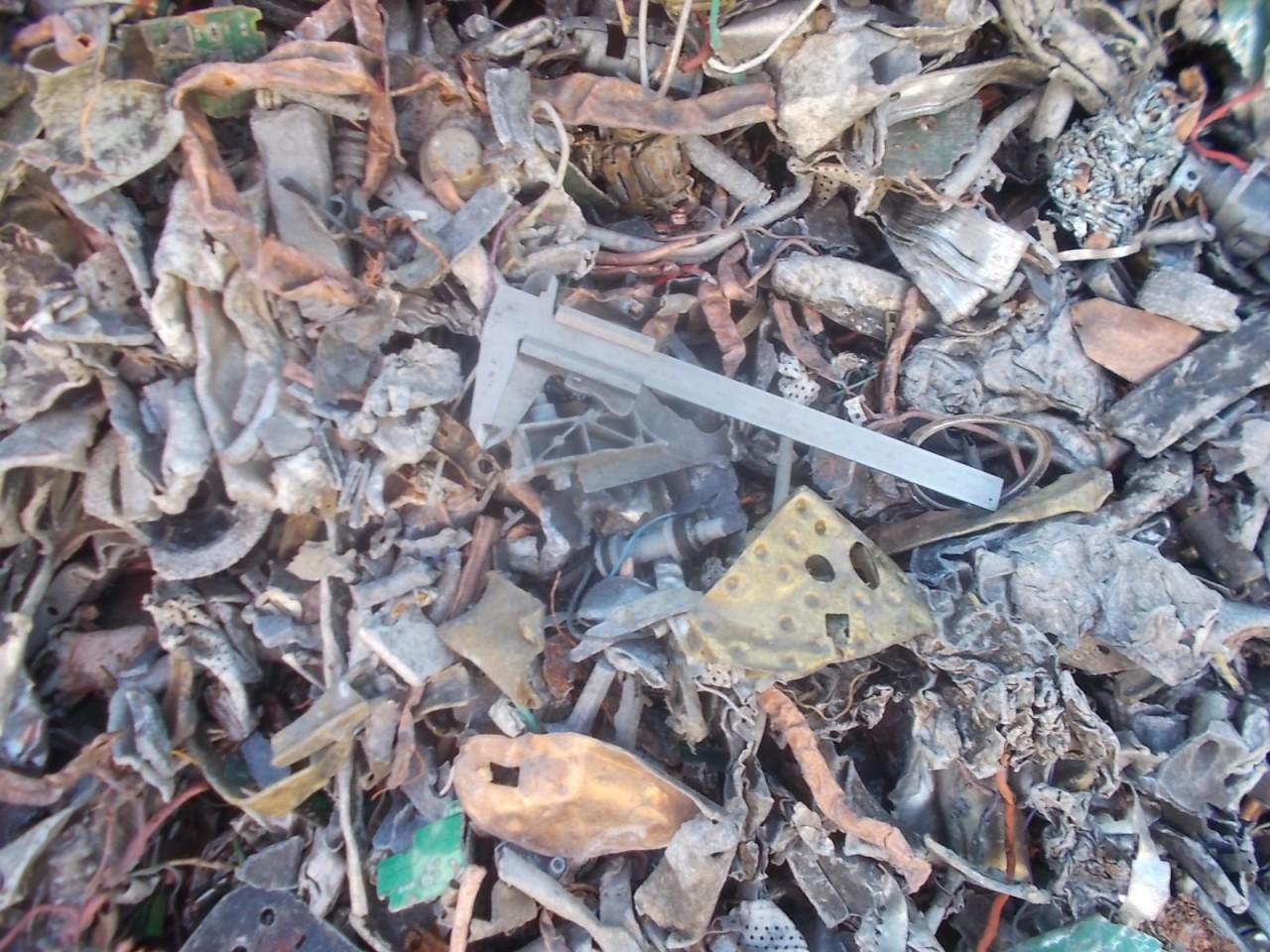 Mixed metals scrap